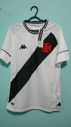 Camisa do Vasco Branca Masculina 2020/21
