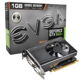 Placa de vídeo Gtx 650 1GB Evga