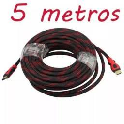 Título do anúncio: Cabo hdmi - 5 Metros