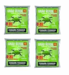 Grão verde isca para formiga cortadeira 4 pacote de 500 gr