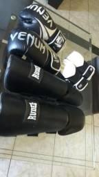 Luvas Venum para muay thay etc , caneleiras rudel e luvas de MMA