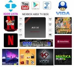 Tv Box a95x 1gb ram 8gb rom Android 7.1