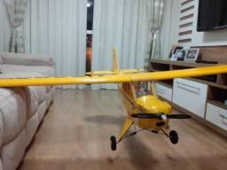 Aeromodelo Piper J3 1/5 The World Models