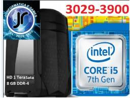 7400- CPU Core i5-7400 Kaby Lake 7a Ger, Cache 6MB, 3.0Ghz (3.5GHZ) 8GB - HD 1TB