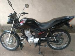 Vendo honda fan ks 125cc 2012 único dono - 2012
