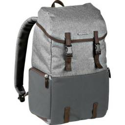 Manfrotto Windsor Explorer Camera and Laptop Backpack for DSLR (Gray)