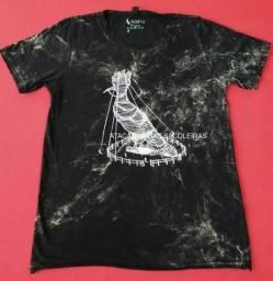 Roupas para Sacoleiras - 10 Camisetas em malha fio 30.1 - 100% algodão - Pré lavada