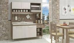 Cozinha compacta com espeço para microondas , *
