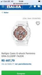Usado, Relógio baby g shock comprar usado  Rio de Janeiro