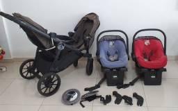 Carrinho de bebê para Gêmeos City Select Lux