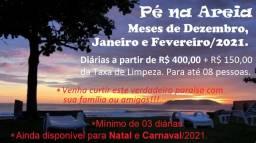 Casa de Praia em Itapoá com WiFi - Tipo pé na Areia - Paraíso a Beira Mar