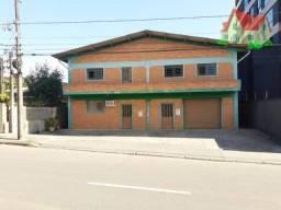 Galpao Comercial C/750 m2 e C/Otima Localizacao Na Area Central do Bairro Iririu!