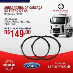 ABRAÇADEIRA DA CARCAÇA DO  FILTRO DE AR ORIGINAL FORD CARGO 2423/2428/2429/1729