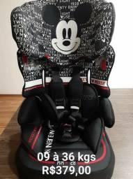 CADEIRINHA para carro Nova Mickey de 09 à 36 kgs