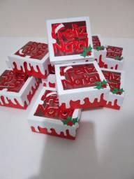 Caixas para doces Natalinas