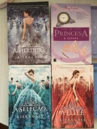 PACK - 4 Livros de Princesas (Kiera Cass e Meg Cabot)
