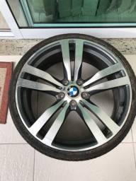 Roda aro 20 BMW 5 furos c/ pneu
