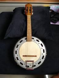 Banjo novo com pouco tempo de comprado, pouco usado