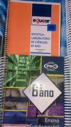 Livros 6° ano Colégio 21 Educar ( Venda)