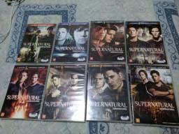Box supernatural/sobrenatural 1,2,3,4,5,6,7 e 8 temporadas