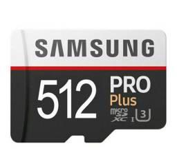 Cartão de memória SanDisk Micro SD de 512GB