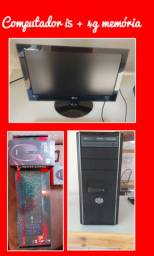Vendo computador core i5 quadcor de 3.10 GHz 4G de RAM e Placa de video de 2G