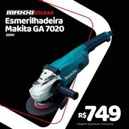 Esmerilhadeira/lixadeira MAKITA GA7020 220V 2200W