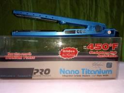 """R$ 150_Nano Titanium 450°F PR0FiSSi0NAL """"prancha"""" -Z£R0 """"Entrega Grátis"""""""