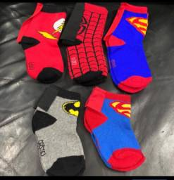 Meias infantis super-hero?is