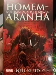 Livro Homem-Aranha: A última caçada de Kraven