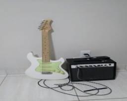 Guitarra Strimberg com Amplificador