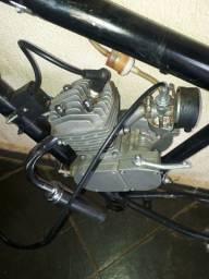 Motor Bicicleta com quadro
