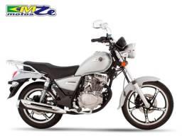 Haojue Chopper Road 150 2020 Prata Zero Km