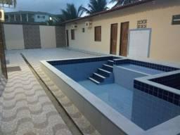 Casa com piscina no maçarico alugo.