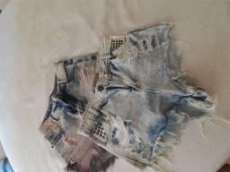 Shortinho jeans desapego
