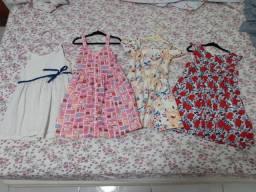 Vestidos infantis 3 a 4 anos