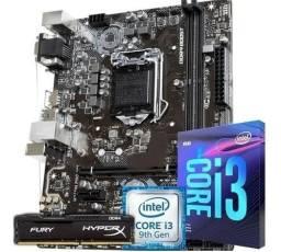 Kit Upgrade Gamer + Video H310 Oem /i3-9100f/ 8gb Ddr4 2400mh