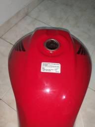 Tanque De Combustível vermelho Titan 150 Ano 2012 (pega Em 2009-2012)