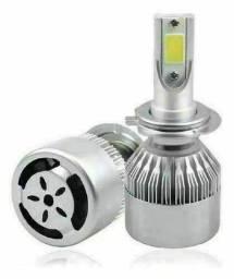 Lâmpada H4 Super Led Full Branca 6000k 7200 Lumens C6