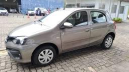 Toyota Etios 1.3X AUTOMATICO 4P