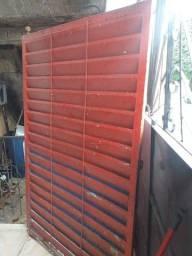 Portão chapa galvanizada
