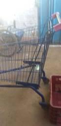 Carrinho de supermercado .