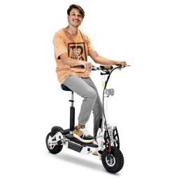 Patinete Elétrico Scooter Two Dogs 1000w 36v ? 3 Baterias<br><br>