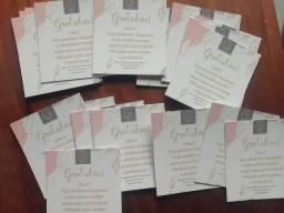 Cartões de agradecimento