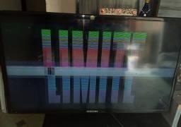 TV SAMSUNG LED 32 ' com defeito na imagem