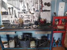 Título do anúncio: Oficina de motos completo só as ferramentas