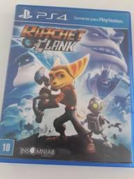 Vendo ou troco Ratchet e Clank - Ps4