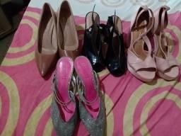 Título do anúncio: Sapatos femininos brechó
