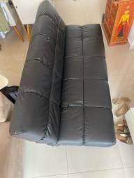 Título do anúncio: Sofá cama couro