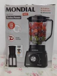 Título do anúncio: Liquidificador Mondial (nunca usado)